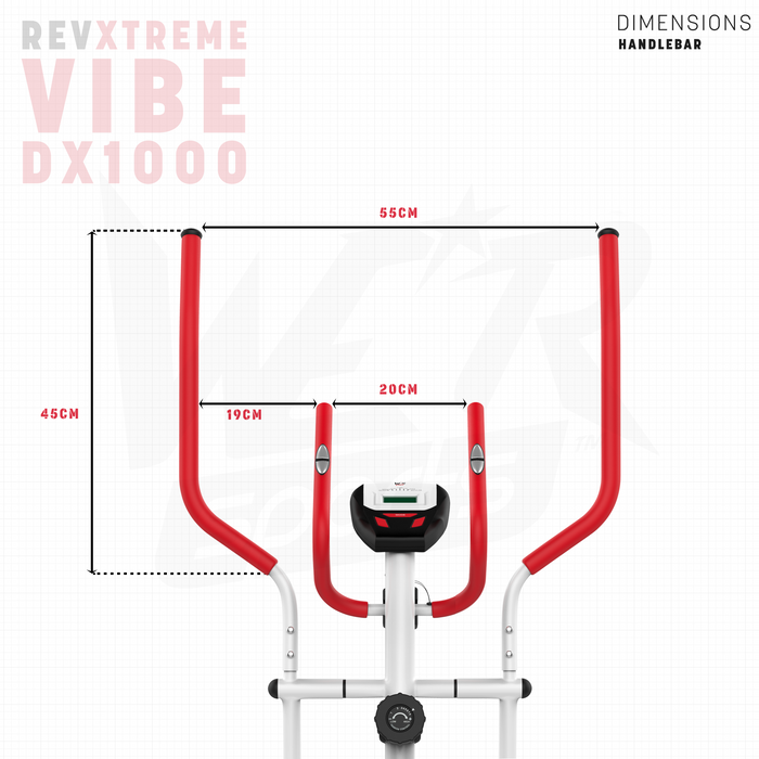 RevXtreme Vibe DX1000 handle dimensions