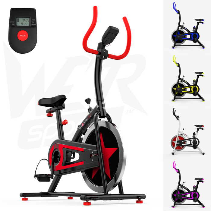 RevXtreme OldSkool Indoor Cycle Studio Exercise bike from WeRSports