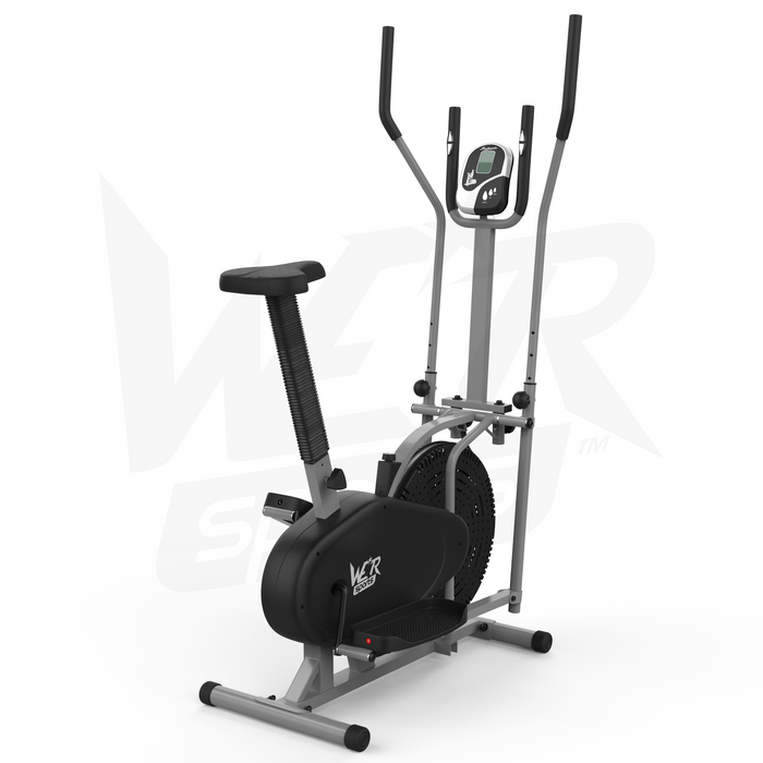 WeRSports elliptical machine 2-in-1 deluxe