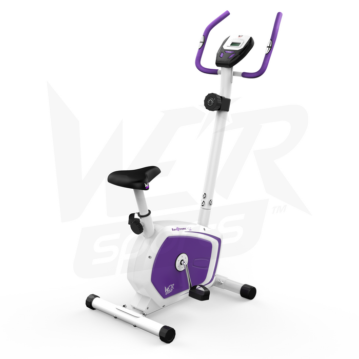 violet exercise bike from WeRSports