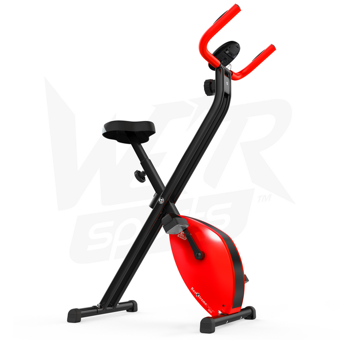 Red exercise bike from WeRSports
