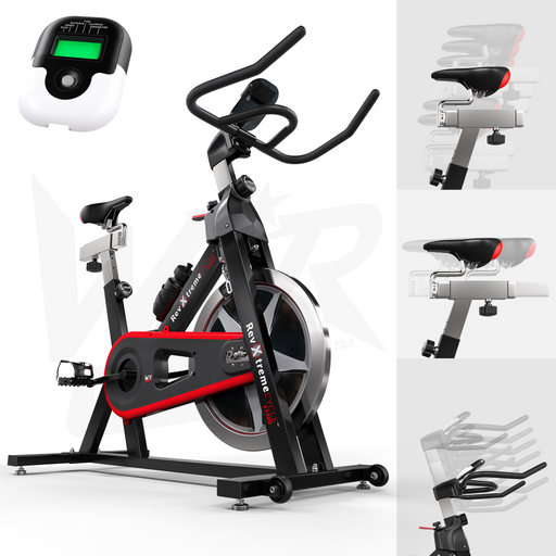 RevXtreme red indoor exercise bike