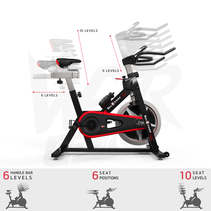 Indoor cycle studio exercise bike by WeRSports