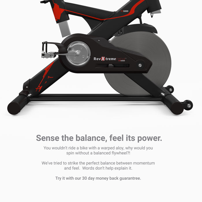 RevXtreme RS5000 Indoor Studio Spin Bike heavy duty