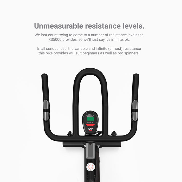 RevXtreme RS5000 Indoor Studio Spin Bike handlebars