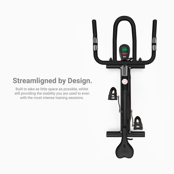 RevXtreme RS5000 Indoor Studio Spin Bike streamline design