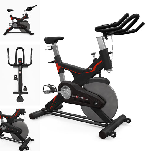 RevXtreme RS5000 Indoor Studio Spin Bike multiple views