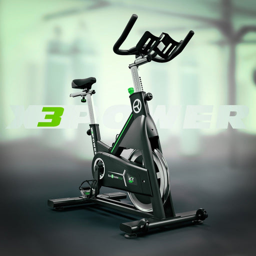 RevXtreme X3Power Indoor Spin Bike front left view