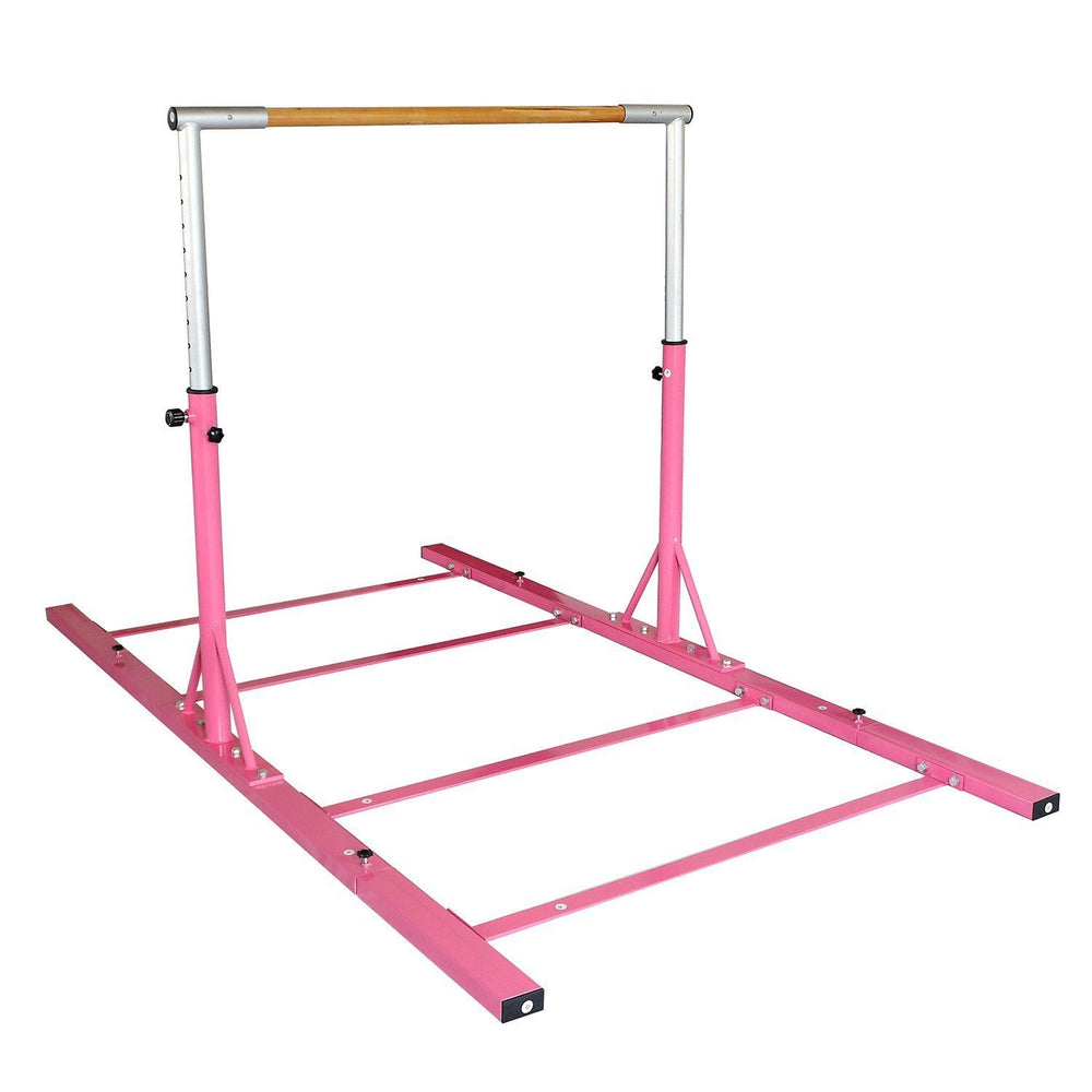 s l1600 38 gymntrax 3 5 ft heavy duty adjustable gymnastics bars kids home gymnastic bar