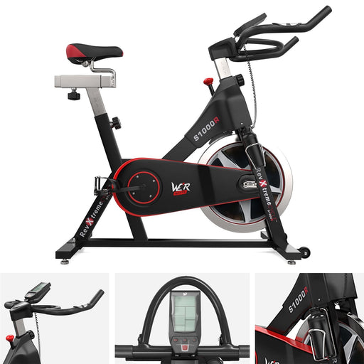 Exercise Spin Bike Fitness Cardio Indoor Aerobic Machine S1000R