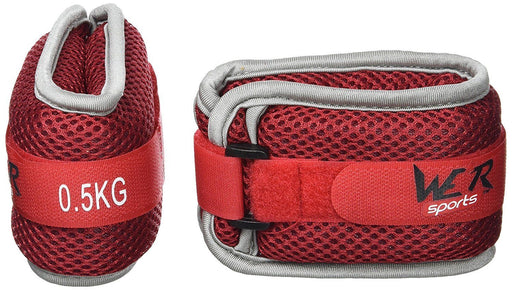 RunFlex Soft Red Ankle/Wrist Weights