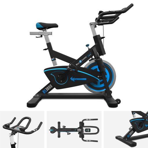 RevXtreme RS3000 Spin Bike in blue
