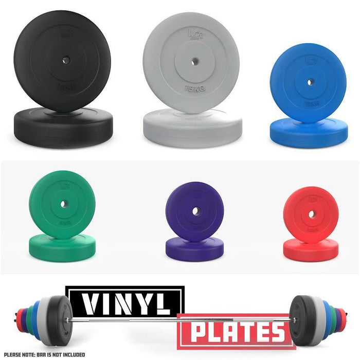 Vinyl Cement Weight Standard 1 Inch 2.5cm Weight Plates