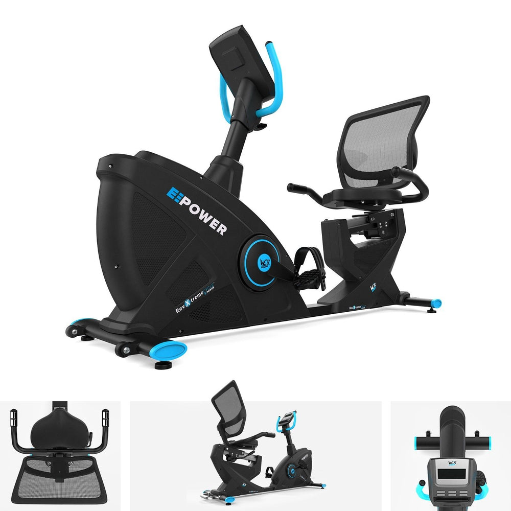 E-Power Cardio Reclining Exercise Bike