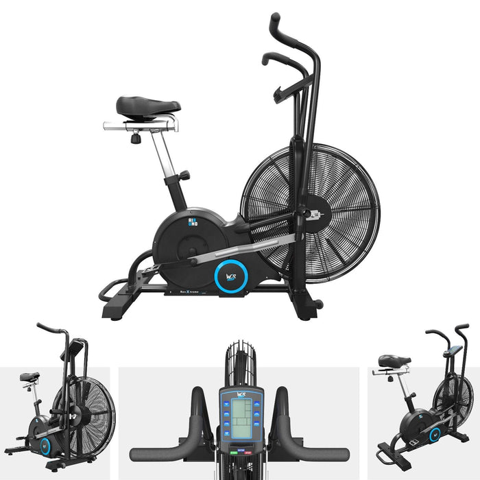 s l1600 8 airuno air assault exercise bike cardio machine fitness cycle heavyduty mma
