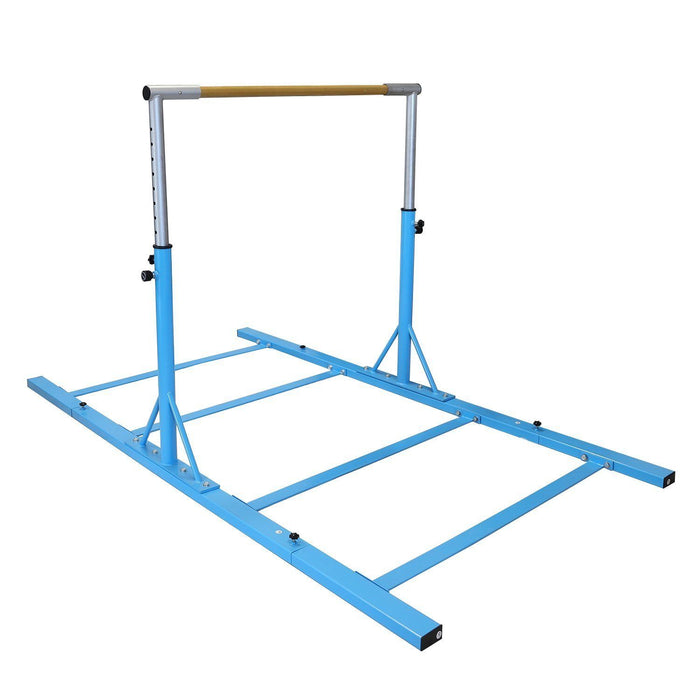 s l1600fseee gymntrax 3 5 ft heavy duty adjustable gymnastics bars kids home gymnastic bar