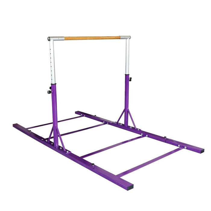 GymnTrax 3 - 5 FT Heavy Duty Adjustable Gymnastics Bars Kids Home Gymnastic Bar