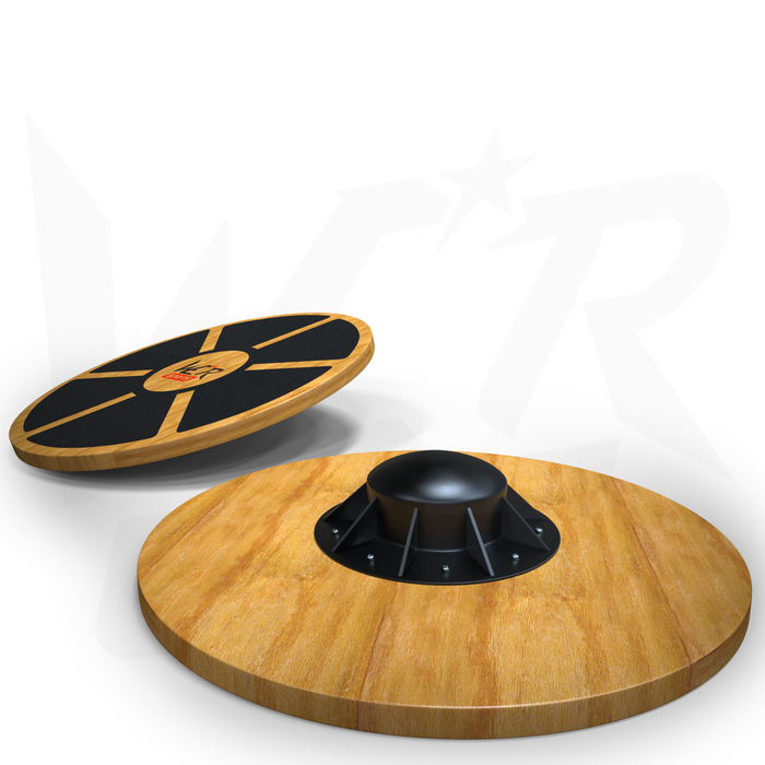 WeRSporst wooden balance board for strength training