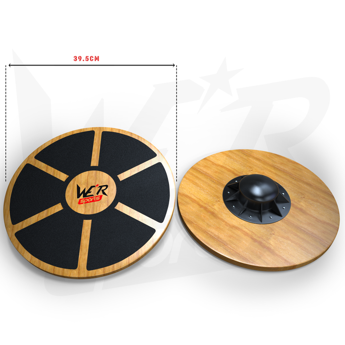 BalanceIT Wooden Balance Board size