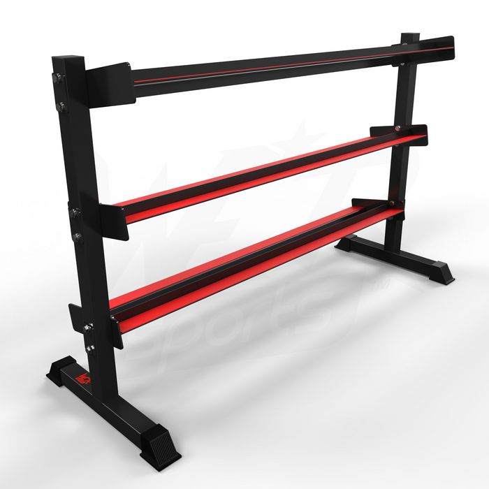 Dumbbell rack without weights