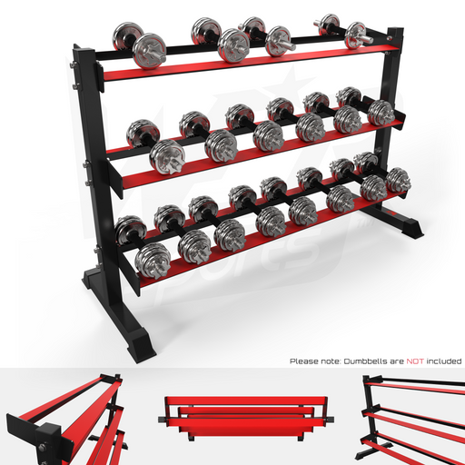 3 Tier Dumbbell Rack from WeRSports