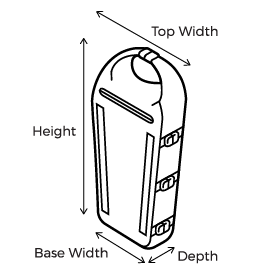 Waterproof Kayak Deck Bag Size Guide