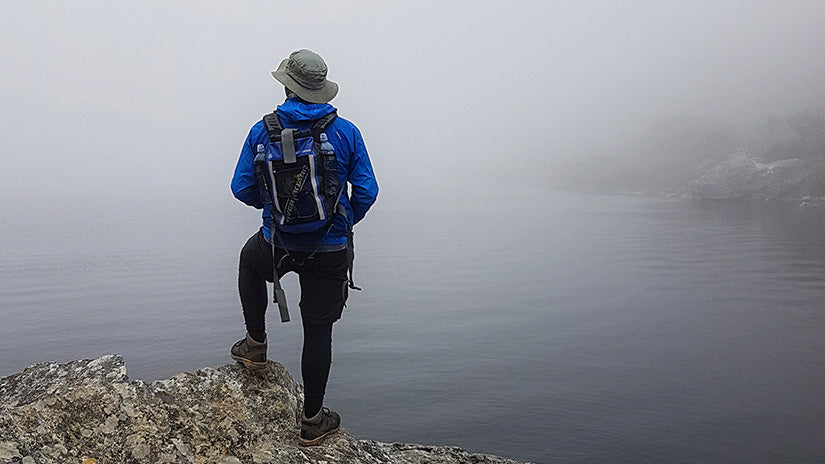 OverBoard Blog - 23 Tips for Backpacking in the Rain