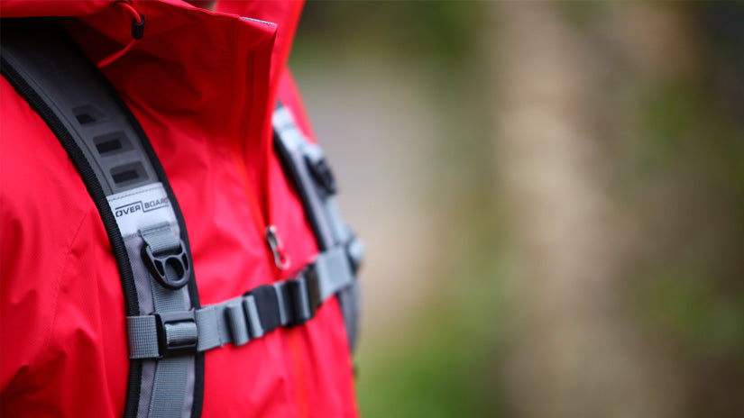OverBoard Blog - 23 Tips for Backpacking in the Rain - Layers