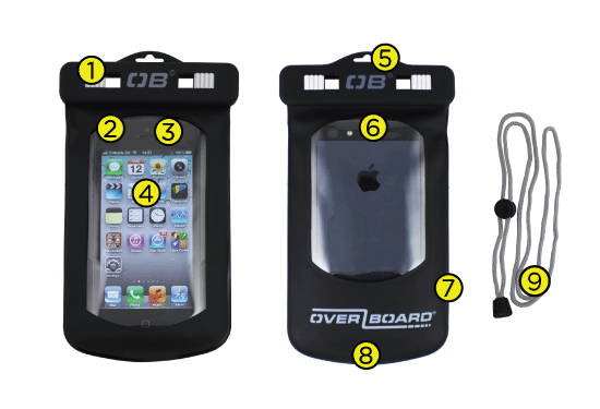 Waterproof Small Phone Case Tech Specs