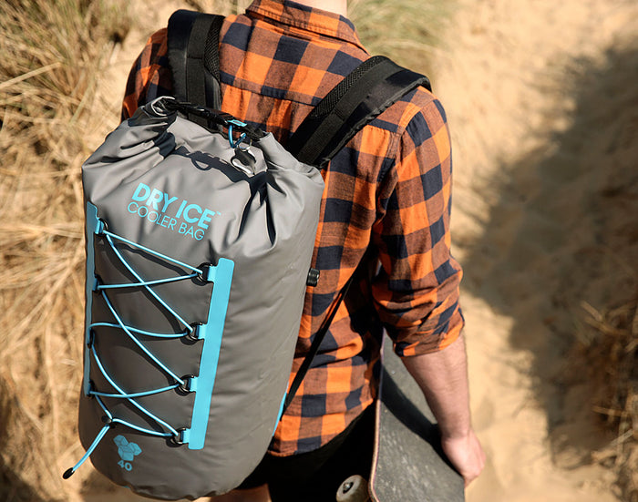 Dry Ice™ Cooler Backpack - 40 Litres - Turquoise
