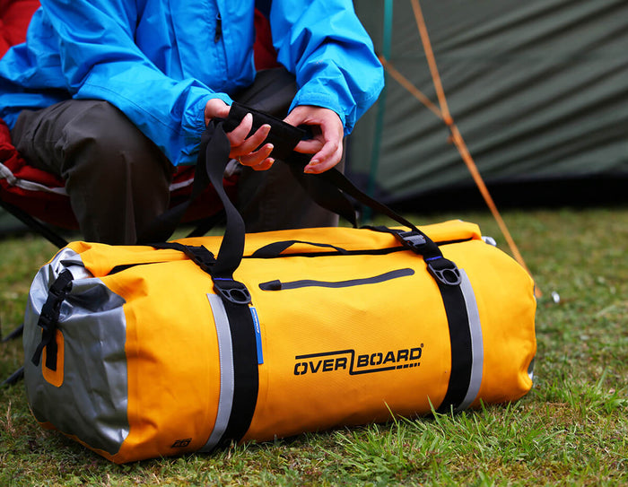 Classic Waterproof Duffel Bag - 40 Litres - Yellow