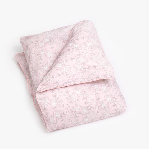 Bird's Song Baby Duvet Set - Pink