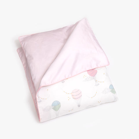 Touch The Sky Baby Duvet - Pink