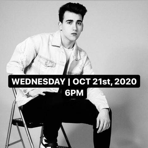 Inter/Adv Choreography w/ Josh Raposo | Wednesday, October 21st, 2020 | 6PM