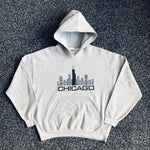 MUSE THRIFT - Chicago Sky Deck Ledge Hoodie