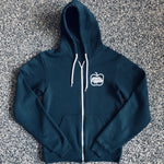 MUSE THRIFT - Green Apple Full Zip Hoodie