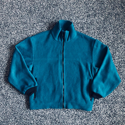 MUSE THRIFT - Full Zip Fleece Sweater
