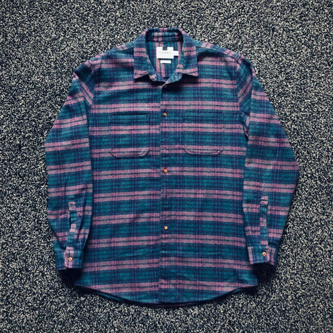 MUSE THRIFT - Topman Flannel Button-Up