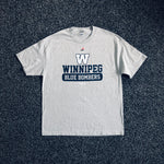 MUSE THRIFT - Winnipeg Blue Bombers Authentic Sideline Tee