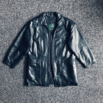 MUSE THRIFT - Danier Unisex Long Leather Coat