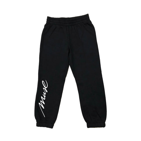 MUSE Youth Script Logo Sweatpants