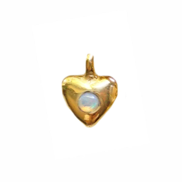Gold Plated ILY Heart Charm