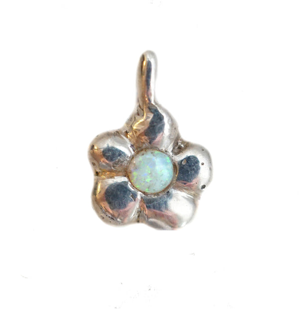 Sterling Silver Flower Power Charm