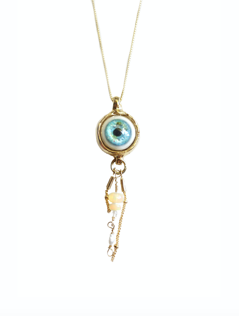 Lucid Jellyfish Pendant - Gold Plated