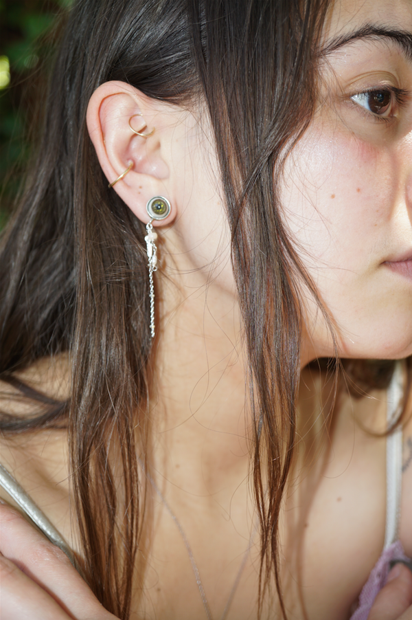 Lucid Jellyfish Earrings - Sterling Silver