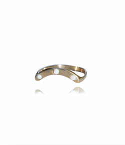 Joy Ring Band - Gold Plated