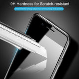 9D Full Cover Curved Tempered Glass Screen Protector For iPhone 11 Pro Max/ iPhone 11 Pro/ iPhone 11/ iPhone XS Max/XR/XS/X/8/8 Plus/7/7 Plus/6/6 Plus/6S/6S Plus - Compas Shopping