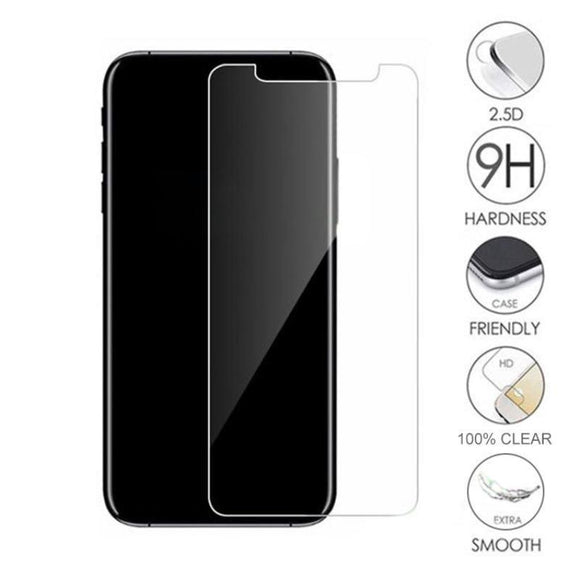 Tempered Glass Screen Protector for iPhone 11 Pro Max/ 11 Pro/ 11/ XS Max/XR/XS/X/8/7/6 Plus/5/5S/5C - Compas Shopping