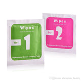 WET-DRY Wipes 2-in-1 Set for Smartphone and Tablet Screen Cleaning Alcohol Wipes - Compas Shopping