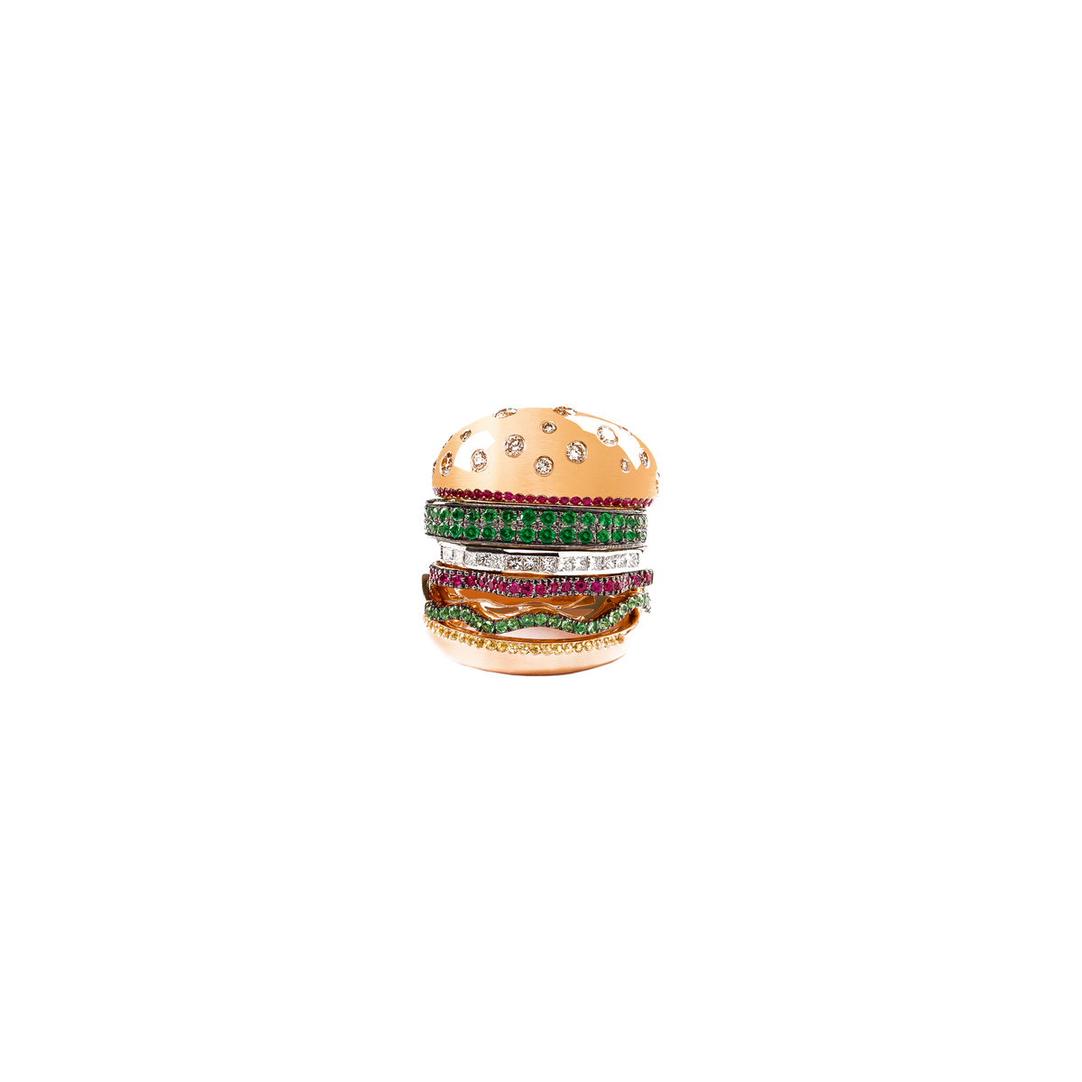 Veggie Burger Ring